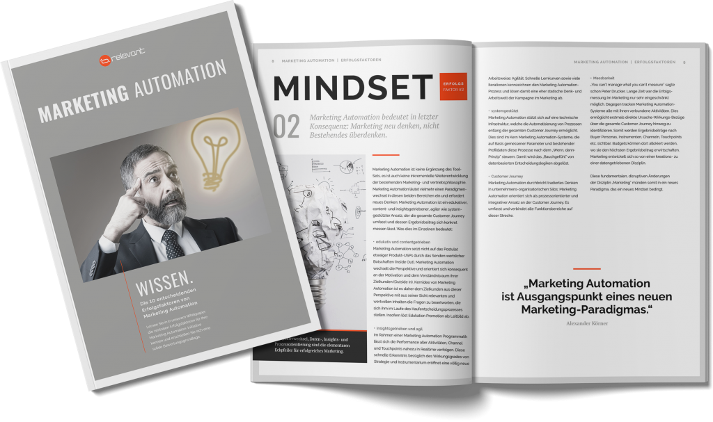 Whitepaper - Erfolgsfaktoren Marketing Automation
